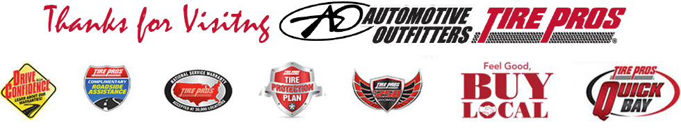 Thank You for Visiting Automotive Outfitters Tire Pros